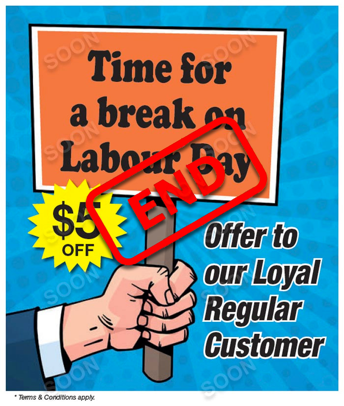 Labour Day Special